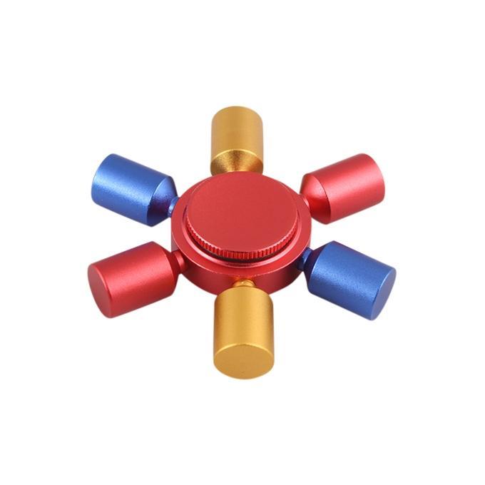 Fidget Spinner Stress Reducer Toy - Multi Color
