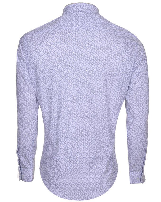 Cotton Formal Long Sleeve Shirt - White