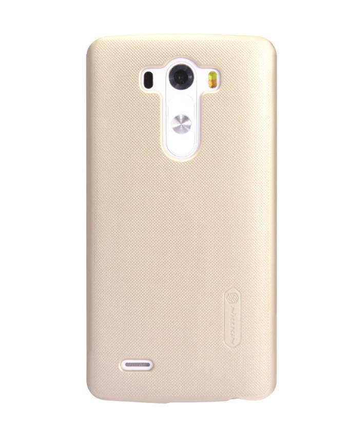 LG G3 D855 Super Frosted Shield Back Case - Golden