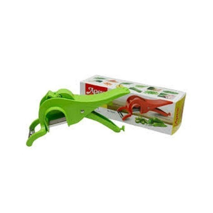 Apex 2 In 1 Multi-Cutter With Peeler - Green