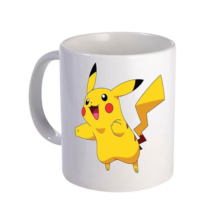 Pokeman Ceramic  Mug - White