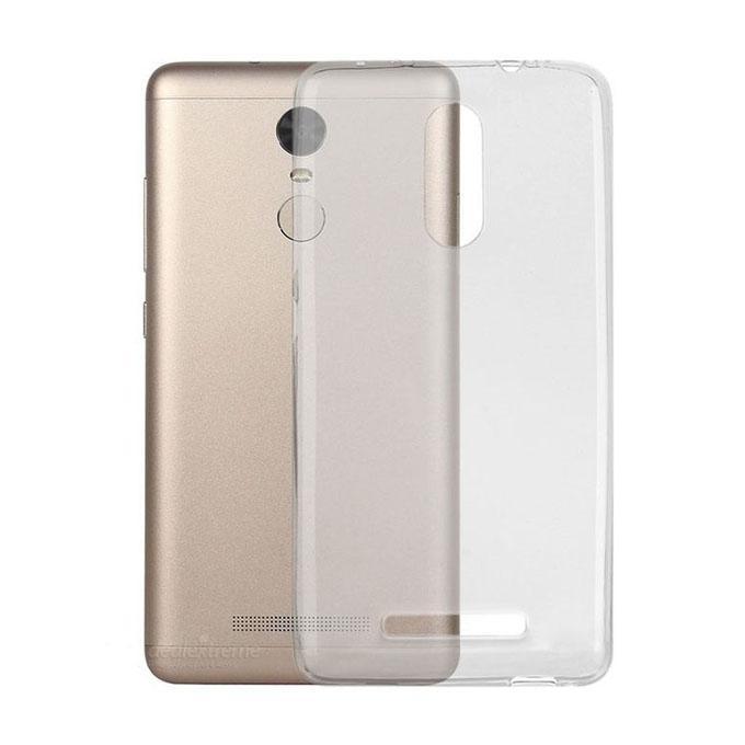 Back Case Cover for Xiaomi Redmi Note 4X - Transparent