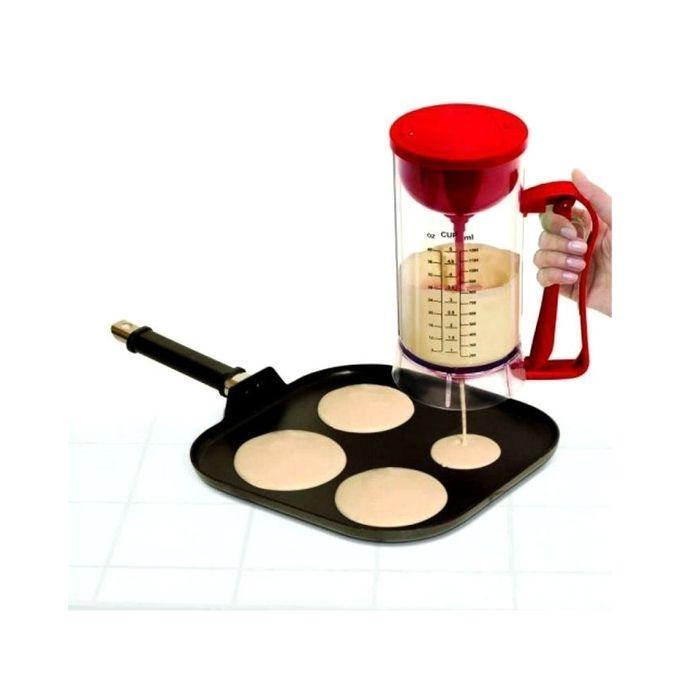 Manual Pancake Machine Batter Dispenser - Red