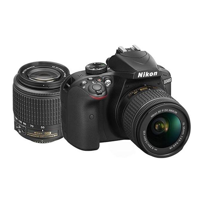 D3400 DSLR Camera with AF P 18-55mm VR - Black