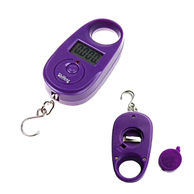 Hanging Luggage Weight Scale - Purple