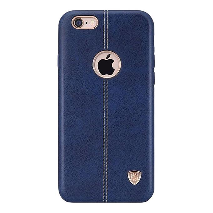 NEV IP6N Englon Series Premium Leather Case Back Cover for iPhone 6SP - Blue
