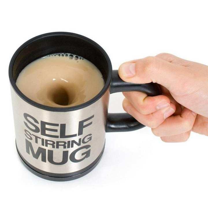Self Stirring Mug - Black
