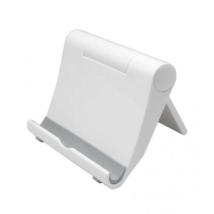 Universal Foldable Mini Stand Stent For Cell Phone - White