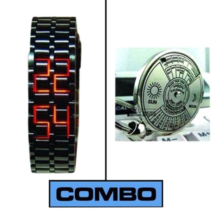 Samurai Wrist Watch and 50 Year Calendar for Men