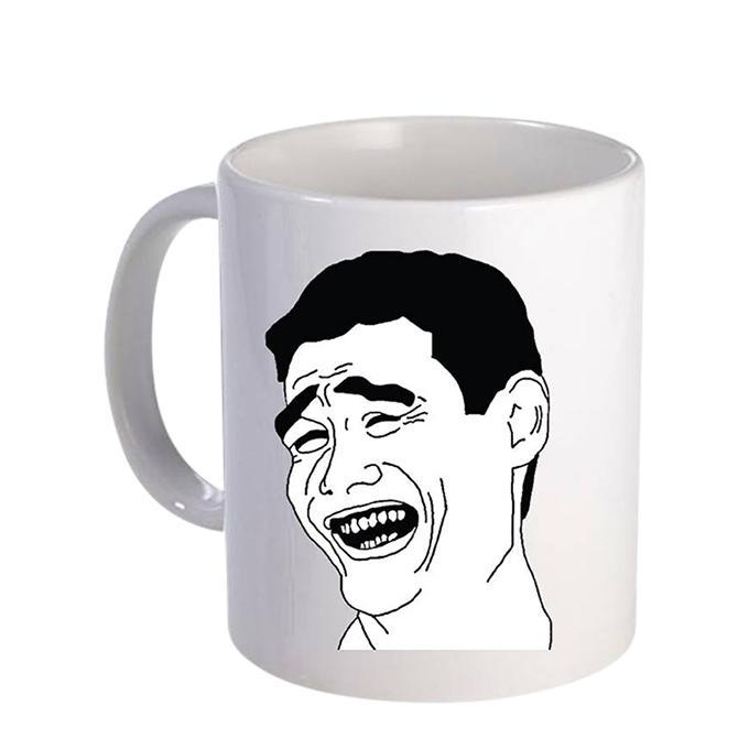Moja Losh Ceramic  Mug - White