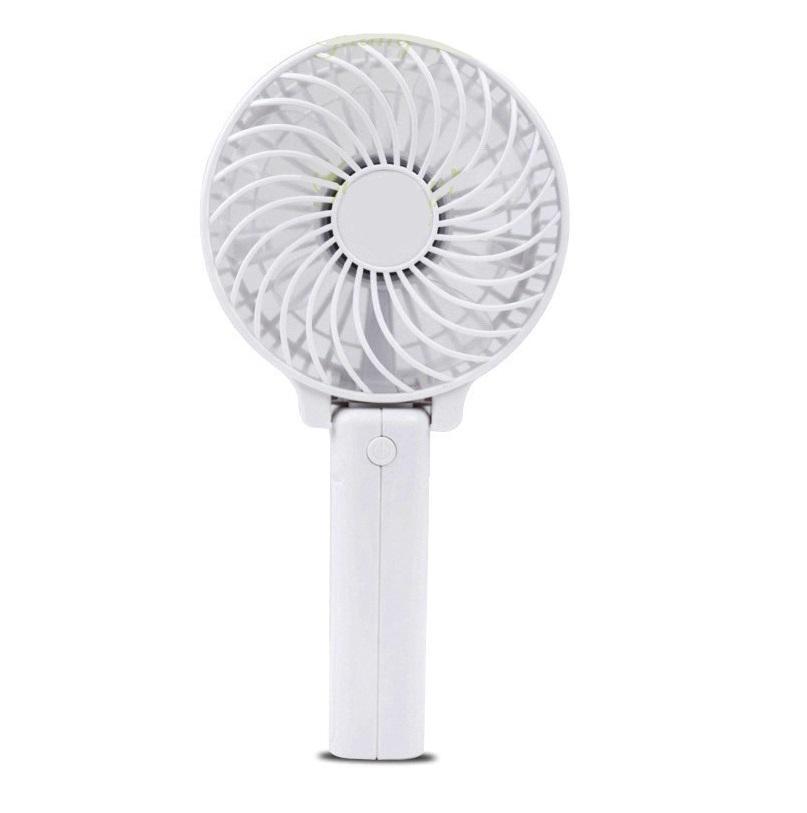 Foldable Handheld Mini Fan - White