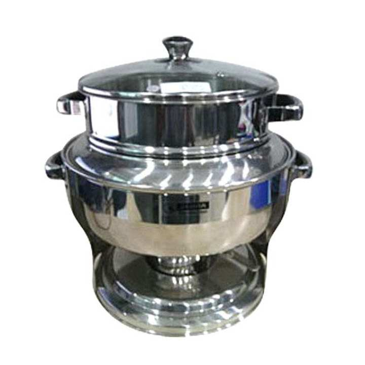 140662 Soup Warmer Single - Silver