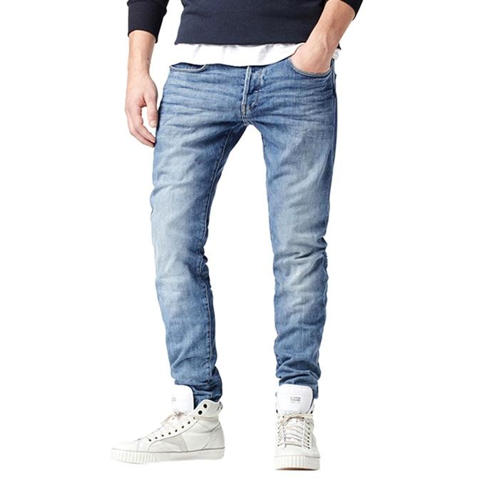 Sky Blue Denim Jeans For Men