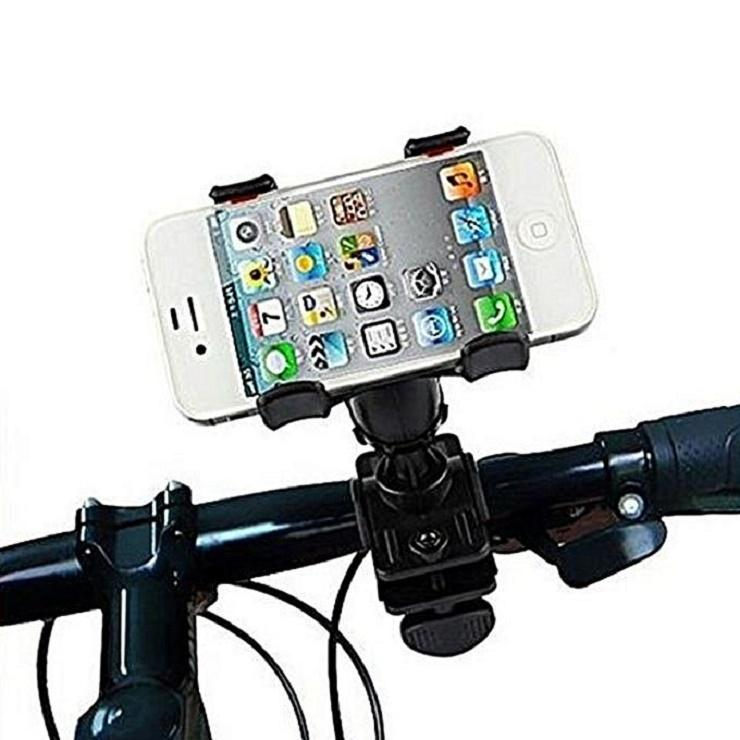 Mobile Phone Holder for Bike and Bicycle - Black