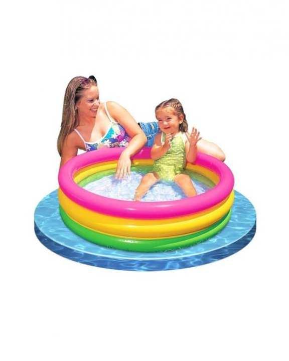 Intex Sunset Glow Baby Pool - Multicolor