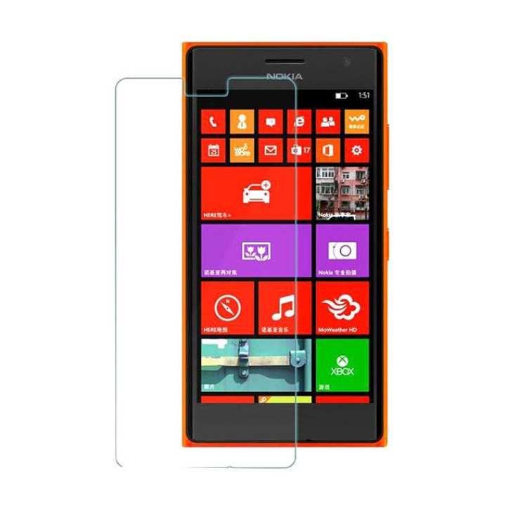 Tempered Glass For Lumia 730 Smartphone - Transparent