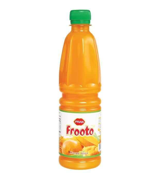 Pran Frooto Fruit Drink - 250ml (Combo of 2pcs)