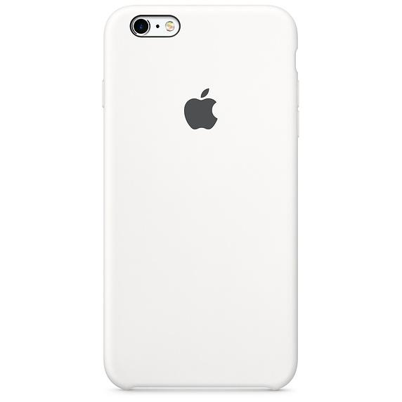 half off c90fb cd2a7 IPhone 6 Plus / 6s Plus Silicone leather Case - White