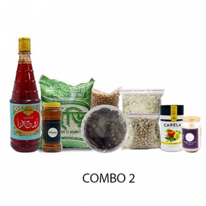 Ramadan Special Combo 2 - Rooh Afza, Mustard Oil, Hand-made Muri, Mariam Dates, Chola Boot, Kabuli Boot, Chira, Carela Tea, IsubGul - 4 KG