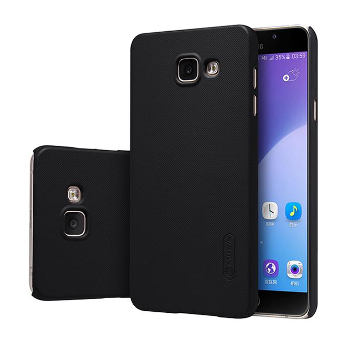 Super Frosted Shield Back Cover for Samsung Galaxy A5(2017) - Black