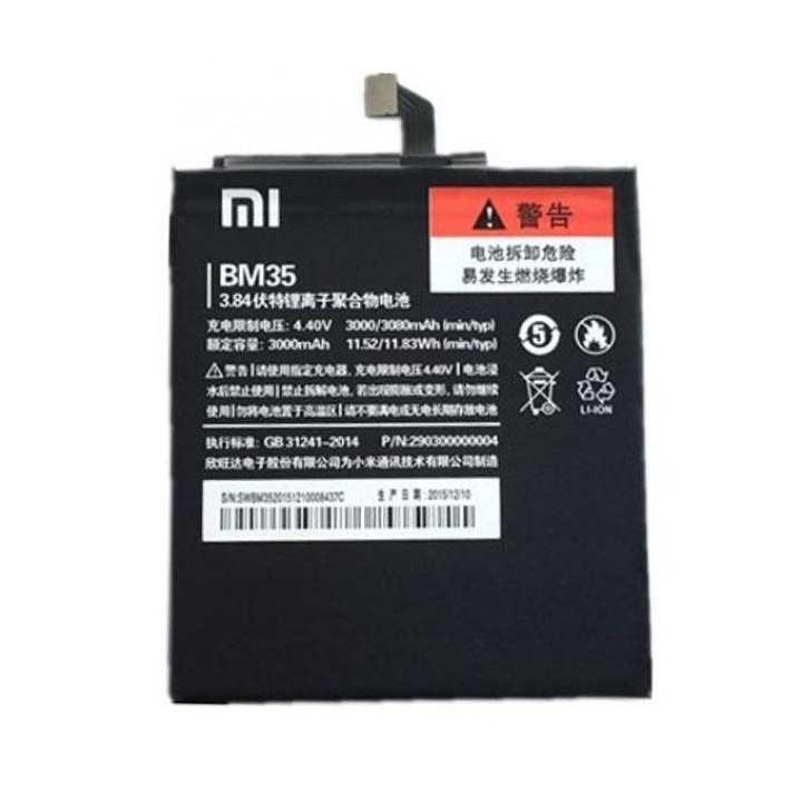 Phone Battery BM35 - 3000mAh for Xiaomi Mi 4c - Black