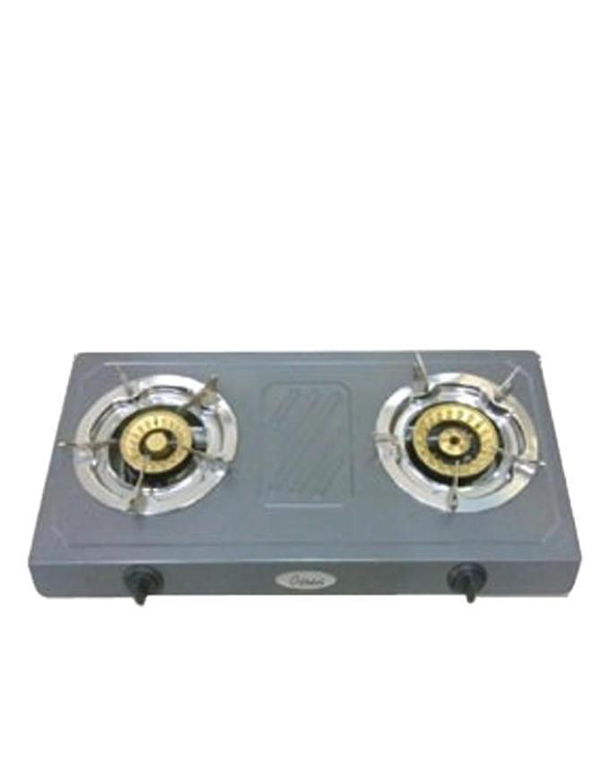 OGC2206 Double Nonstick LPG Gas Cooker - Gray