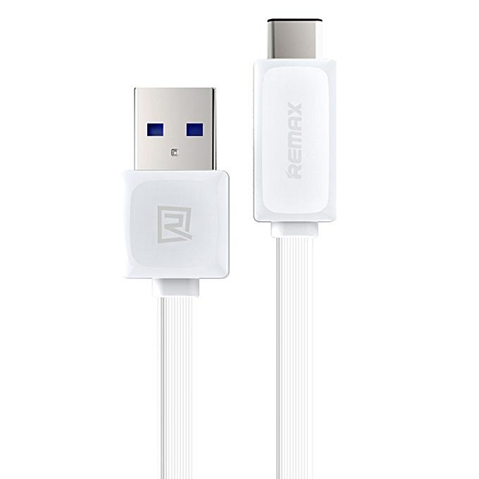 Type-C Fast Charger Data Cable - White