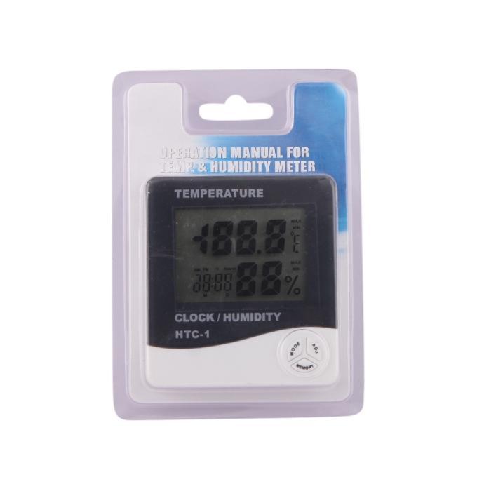 Digital Room Temperature Meter with Clock