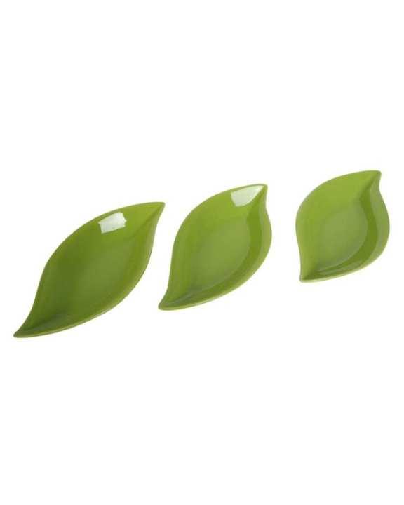Snack Serving Set - 3 Pcs - Green