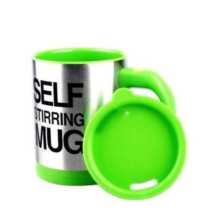 Self Stirring Mug - Green