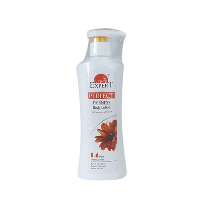 B.tech Expert protect Fairness Body Lotion with sunscreem and Vitamin E - 200ml
