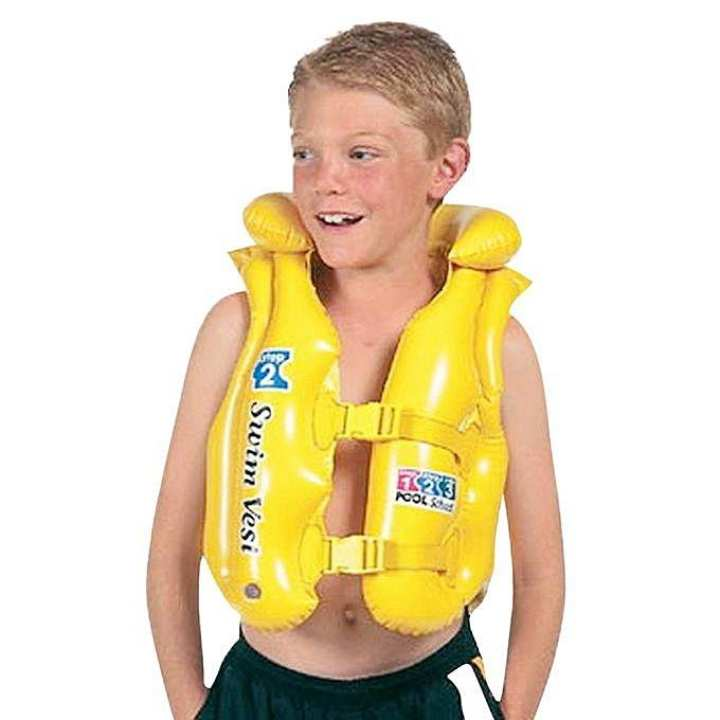 Inflatable Life Jacket - Yellow