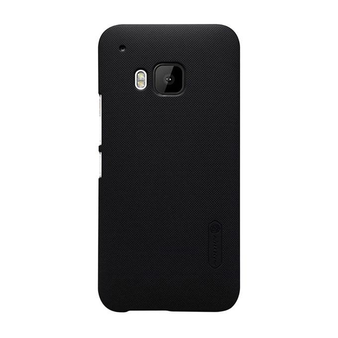 Super Frosted Shield Back Cover for HTC One M9 - Black