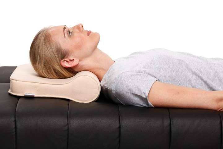 Cervical Pillow  - Golden Ash