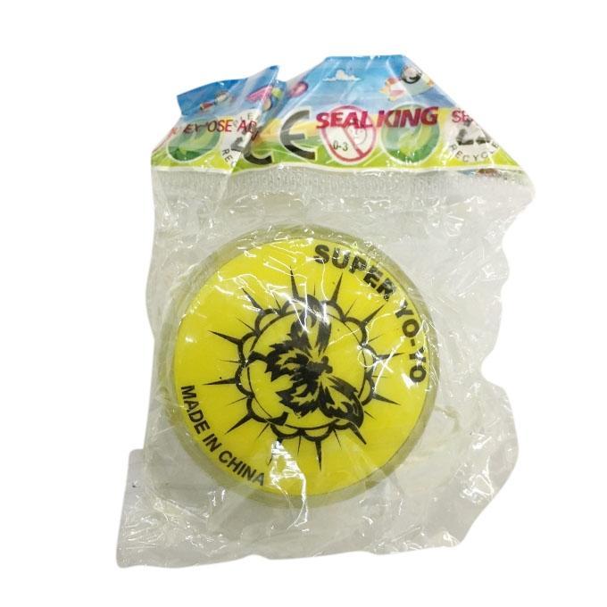 Super Plastic Yo Yo - Yellow