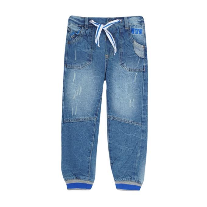 Blue Denim Jeans Pant For Boys