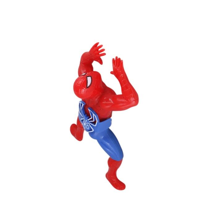Plastic Spider Man - Red and Blue