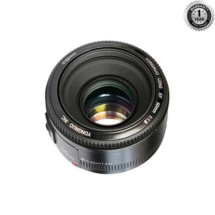 YN 50mm f/1.8 for Nikon - Black