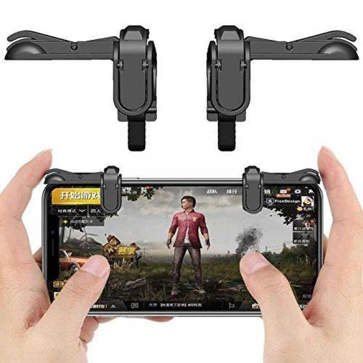 PUBG Shooter Controller Smartphone Mobile Gaming Trigger Fire Button Handle