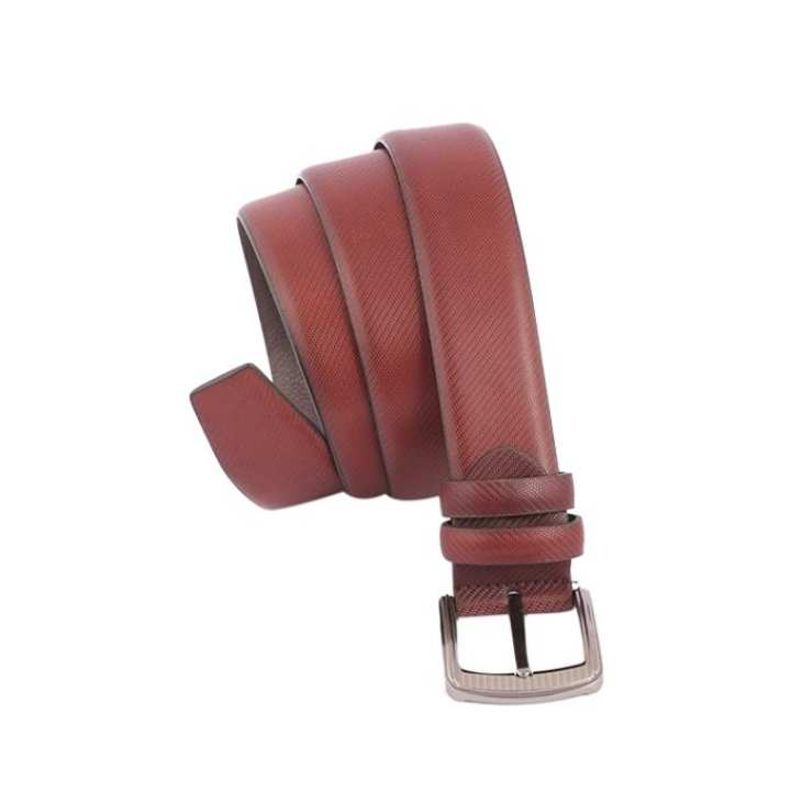 Maroon PU Lather Belt for Men
