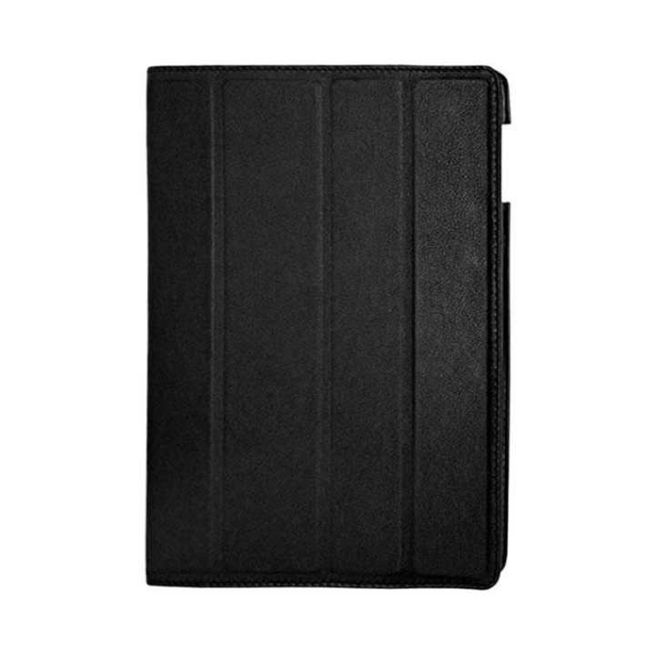 Leather Case Flip Cover for ipad 2/3/4 - Black