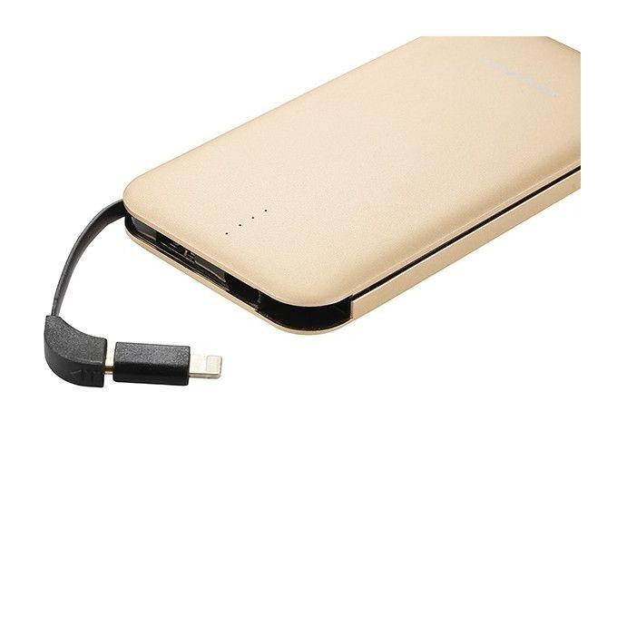 P20K Power Bank 8000mAh - Golden