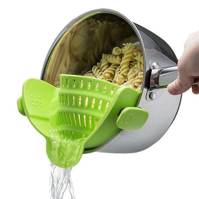 Green Plastic Strainer