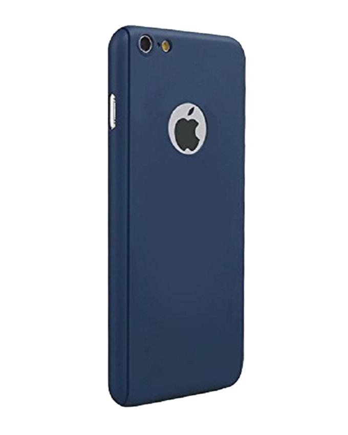 360 Full Protection Case with Tempered Glass for iPhone 6/6S - Blue