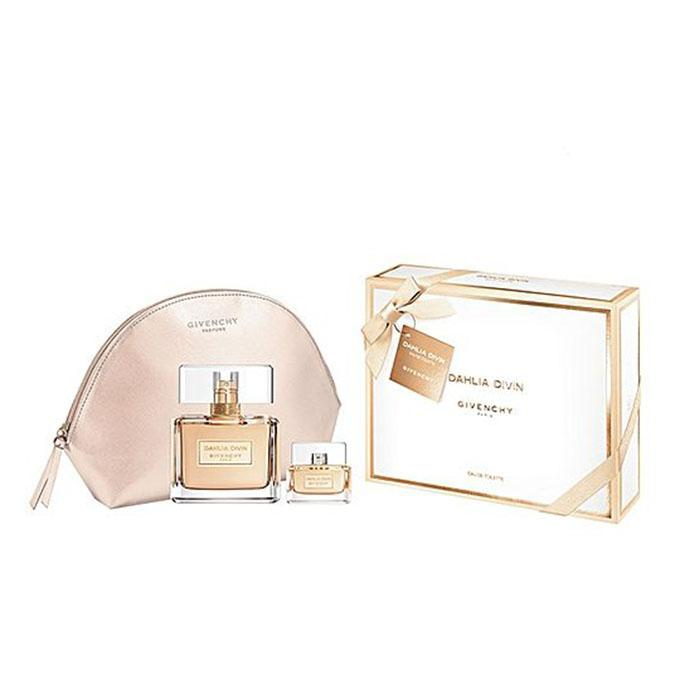 Dahlia Divin Gift Set ( EDT Spray 75ml+ EDT 5ml+ Pouch )