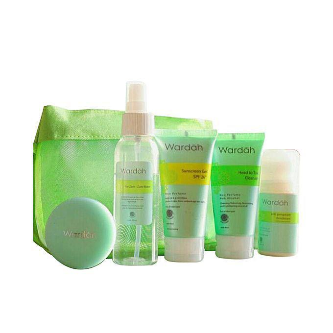 Paket Hajj And Umrah (Sunscreen Gel, Moisturizer Plus, Deodorent, Clenser)