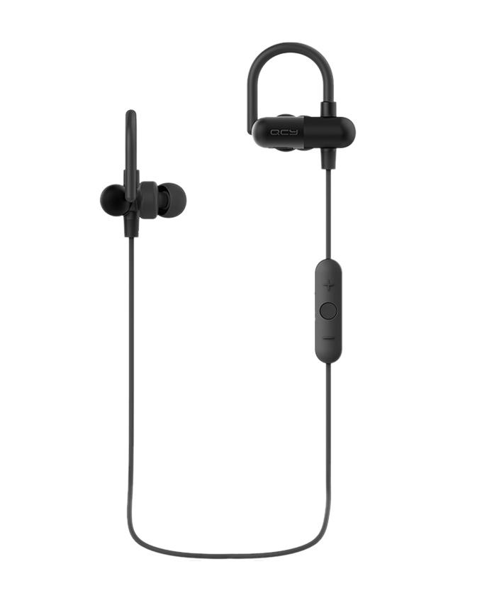QY11 Bluetooth In-Ear Stereo Wireless Earphones - Black