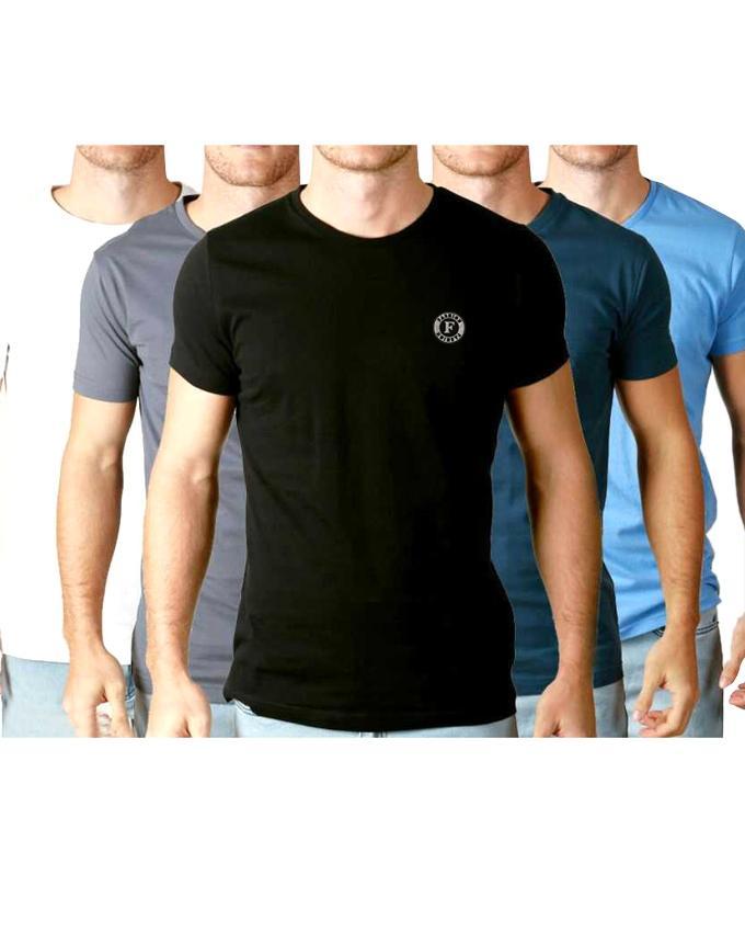 Combo Pack of 5 T-shirt For Men
