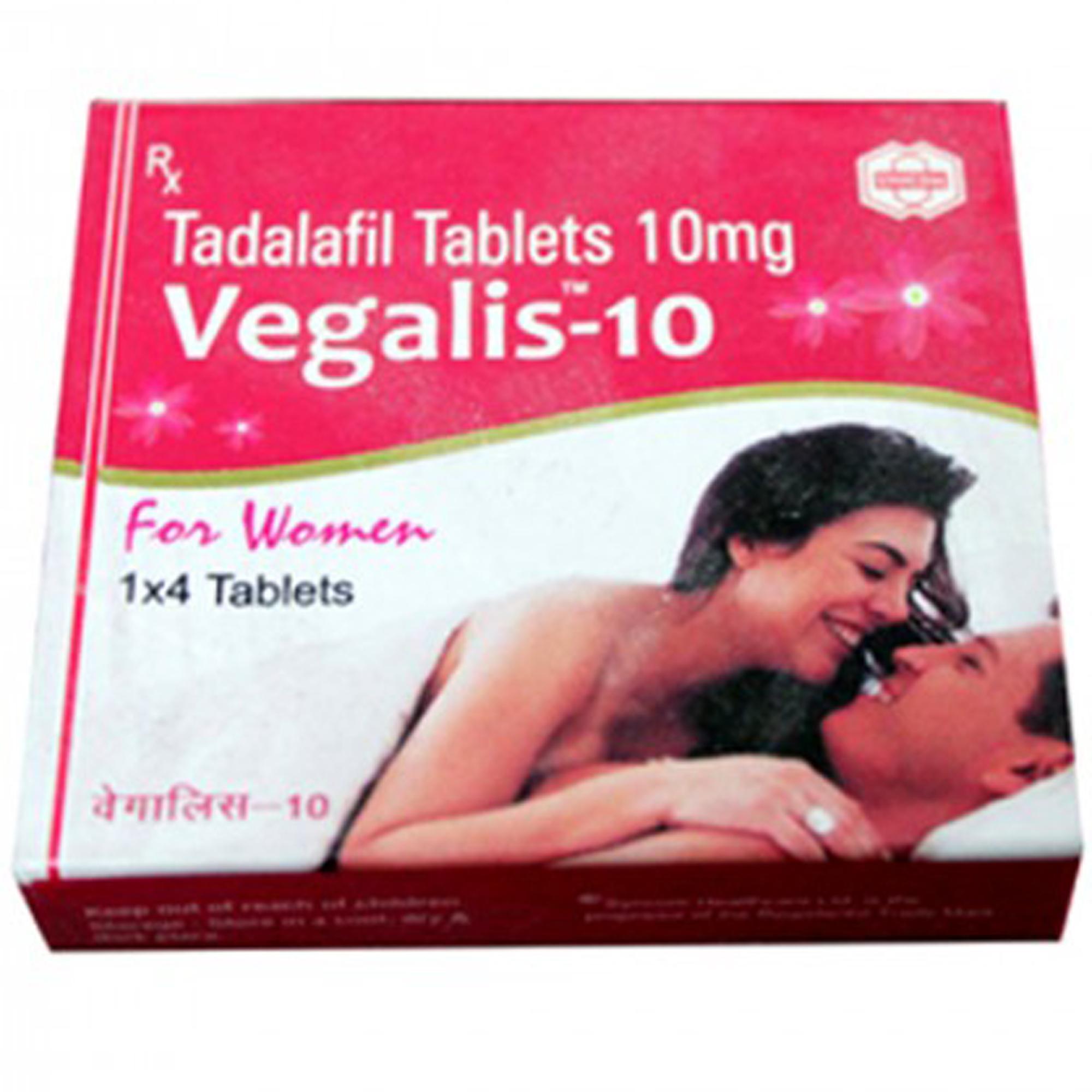Vegalis Sex Enhancement Tablets For Women - 10mg