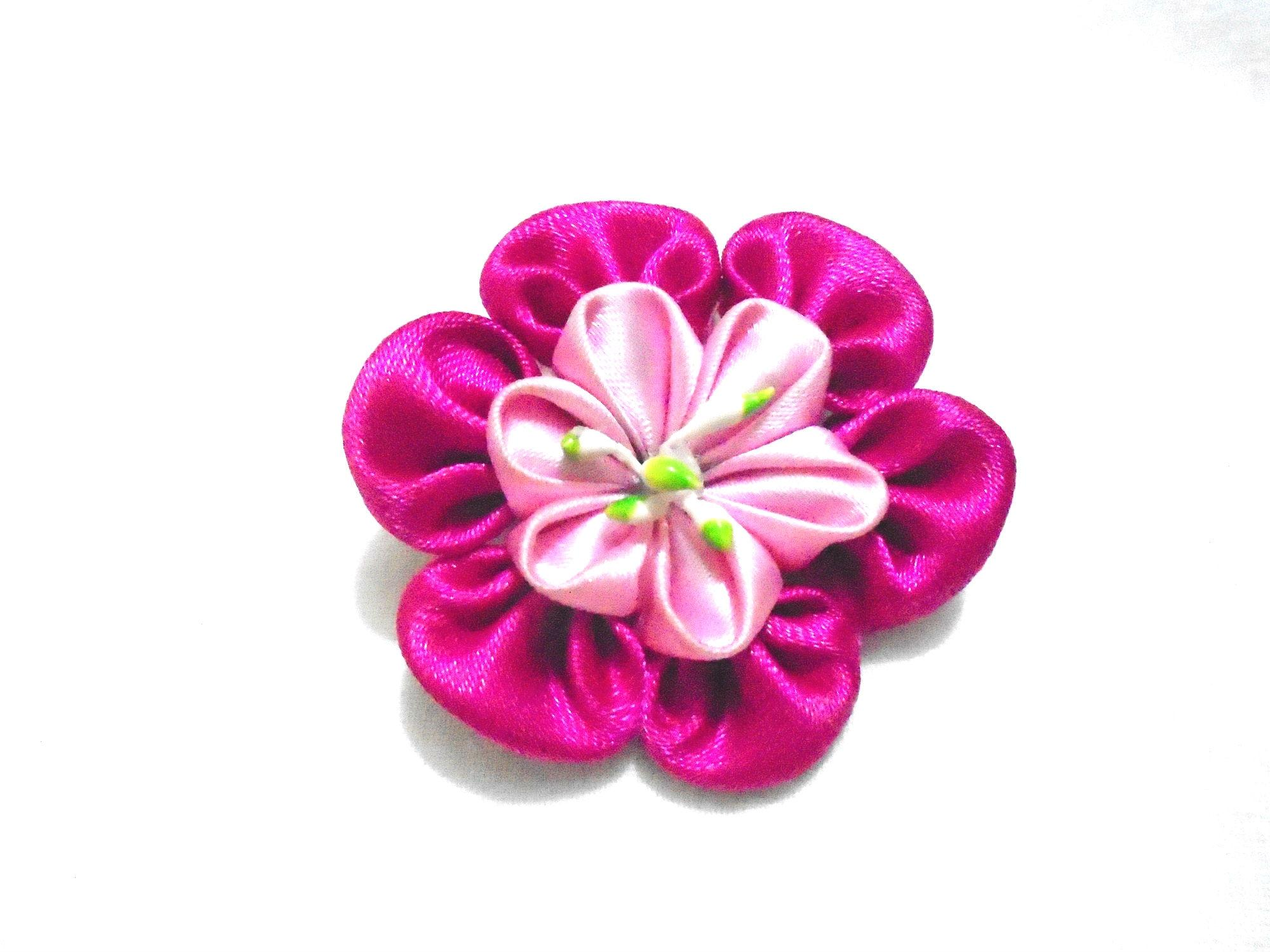 Multi Color Fabric And Beads Hijab Brooch For Women